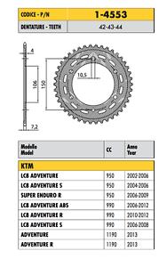 SUNSTAR CORONA PASSO 525 DENTI 43 KTM ADVENTURE R  1190  2013 2014 2015
