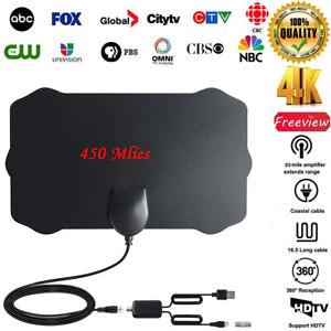 Antena-Antena-De-TV-Digital-Interior-HDTV-Amplificado-200-millas-de-alcance-Vhf-Uhf-Tdt