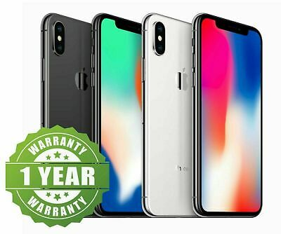 Details about  NEW sealed box Apple iPhone X 64GB/256GB Smartphone Mobile Unlocked AU Stock