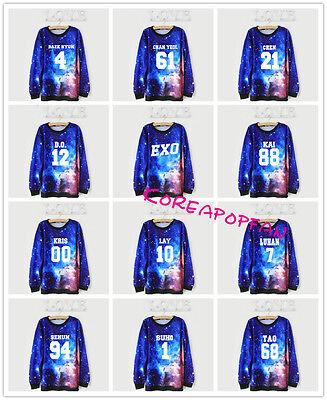 Exo chanyeol baekhyun sehun kai lay kpop longsleeve shirt sweatshirt jumper