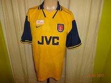 "Arsenal London Original Nike Auswärts Trikot 1996/97 ""JVC"" Gr.XL TOP"