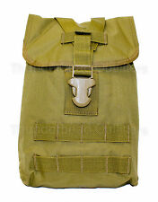 Eagle Industries MOLLE CHARGE POUCH Utility Elastic Bottle Holder KHAKI NEW