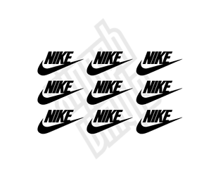 9-x-Nike-vinyl-sticker-decal-iphone-car-window-optional-mini-small-logo-case