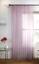 Métallique lilas Feuille Paillettes Rayures Blanc Voile Fente Haut Rideau Filet Panneau
