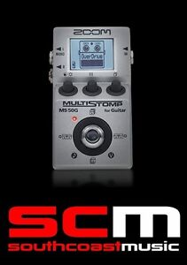 zoom ms 50g multistomp electric guitar fx pedal chorus delay reverb effects ms50 ebay. Black Bedroom Furniture Sets. Home Design Ideas