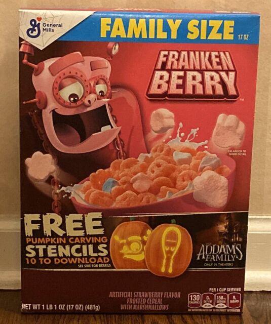 Monsters Cereal Franken Berry 17oz For Sale Online