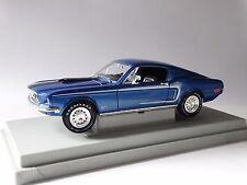 Ertl American Muscle 1968 Ford Mustang GT Cobra Jet 1:18 Scale Diecast Model Car