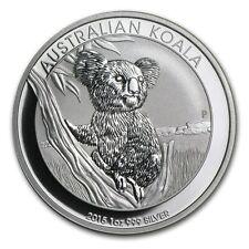 2015 2016 2017 Australia 1 oz Silver Koala capsula plastica argento 999 silber