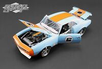 1968 Chevrolet Camaro 6 Gulf Oil Street Fighter Limited Ed 1/18 By Gmp 18814