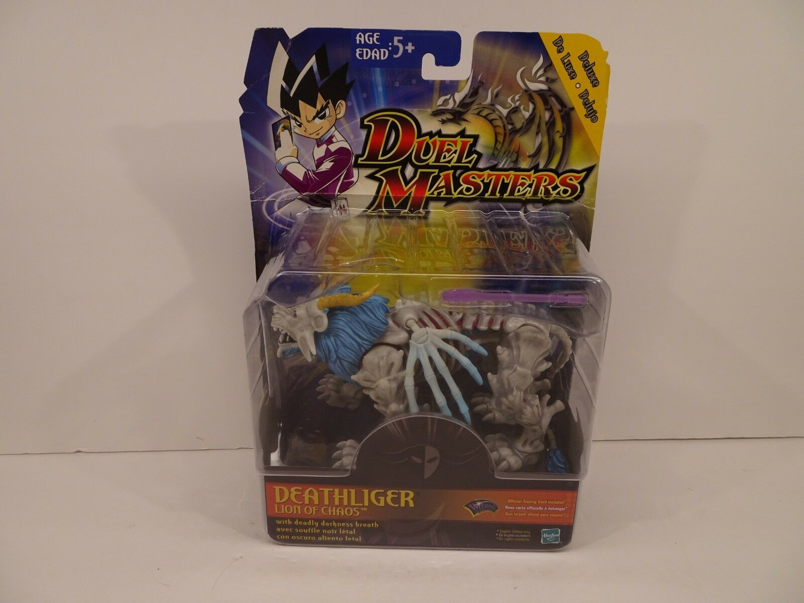 Hasbro Duel Masters Masters Masters Deluxe Deathliger Lion Of Chaos Wizards of the Coast 23a9b4