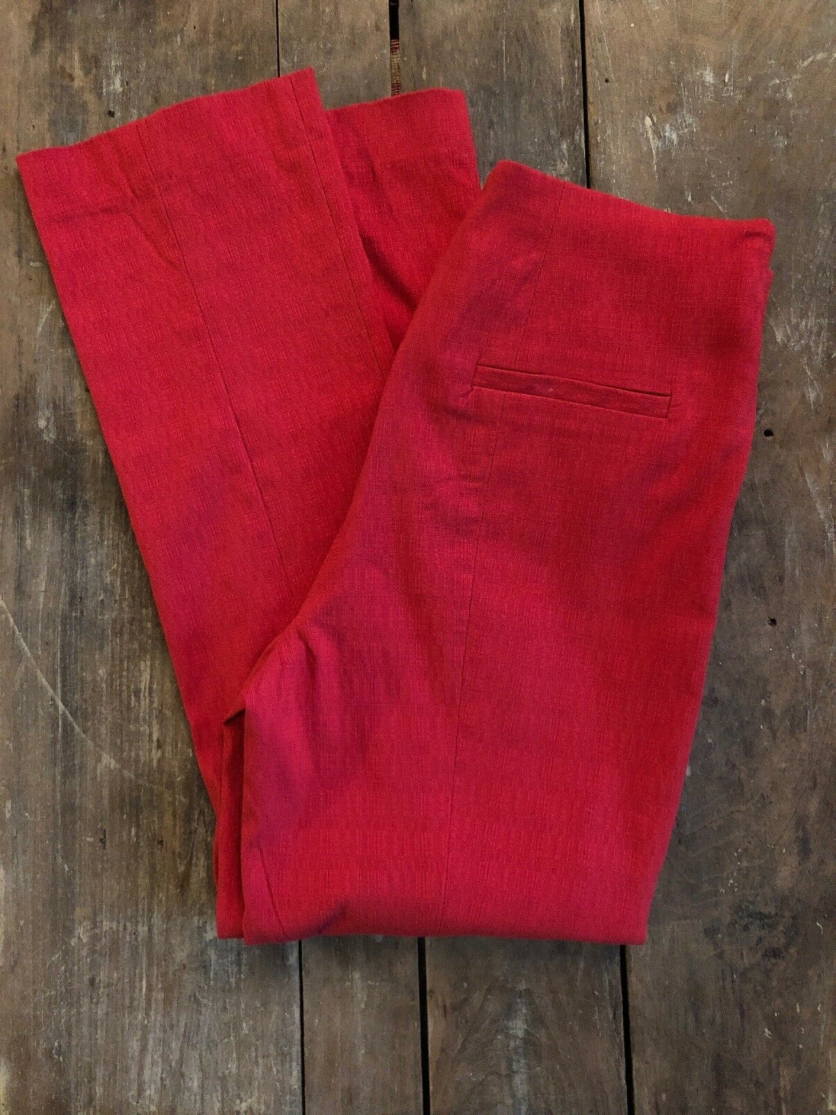 Anthropologie Pants Capri rot Stretch High Waisted Sz 6 NWT Corey Lynn Calter