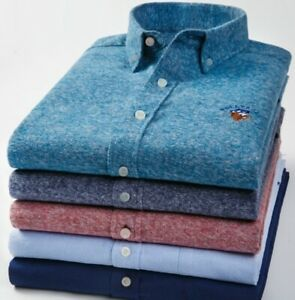 Men-Cotton-Flannel-Shirt-Spring-Casual-Sanding-Dress-For-Male-Fashion-Embroidery