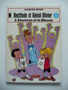 EO-tres-bon-etat-Genial-Olivier-9-L-039-electron-et-le-blason-Devos-Dupuis