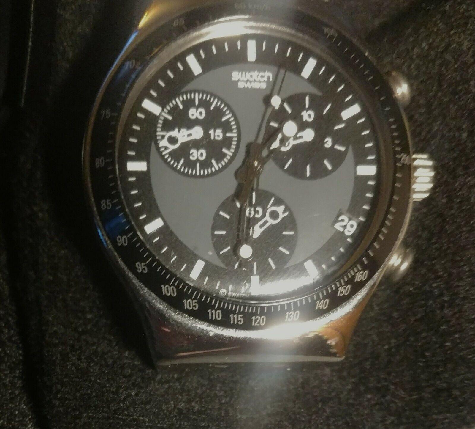 Swatch Irony Chronograph Windfall Mens Watch Ycs410gx For Sale Online Ebay