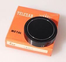 LEICA REAR LENS CAP, METAL, FOR SCREW MOUNT, NEW IN BOX