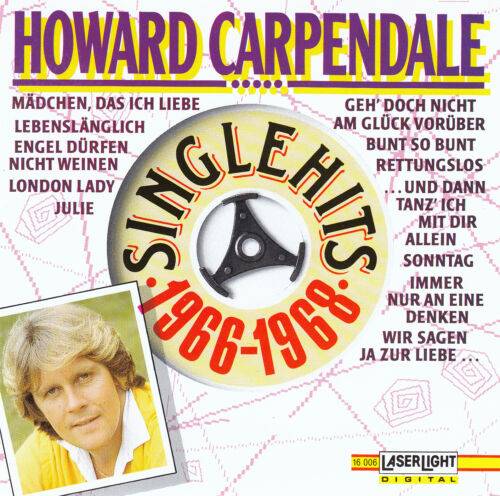 1 von 1 - HOWARD CARPENDALE : SINGLE HITS 1966-1968 / CD - TOP-ZUSTAND