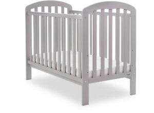 Obaby-LILY-COT-Baby-Child-Nursery-Furniture-Warm-Grey-BN