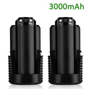2-Pack-For-Dremel-B812-02-8200-8220-8300-12V-Max-Lithium-Ion-Battery-3000mAh