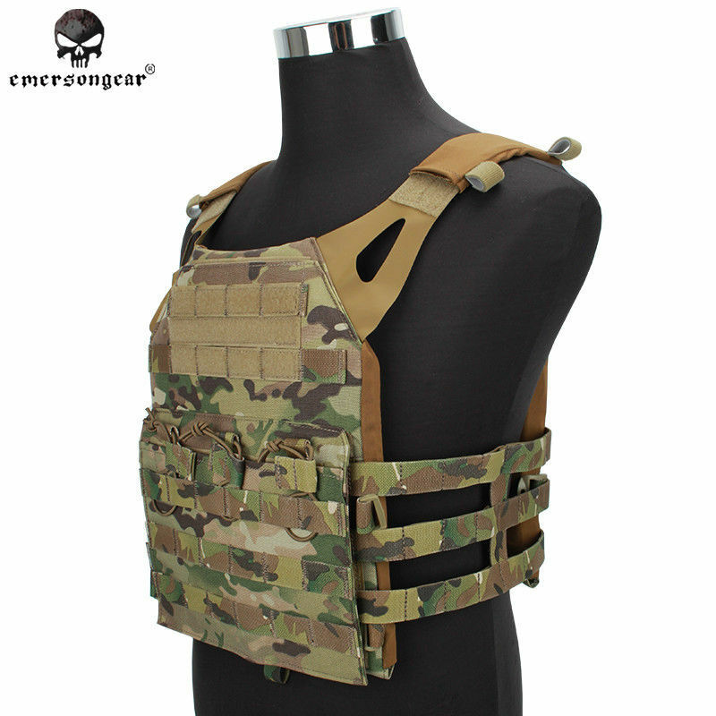 EMERSON Tactical Vest Airsoft Vest Plate Carrier JPC Military Hunting   MC 1000D  best reputation