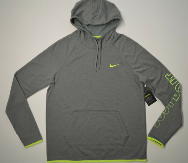 Women's NIKE Therma Dri Fit Hoodie Pullover Size M L Just Do It 848767 054