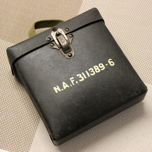 WWII-BOX-N-A-F-311389-6-Signal-Light-Lenses-BOX-ONLY-US-Air-Force-Naval