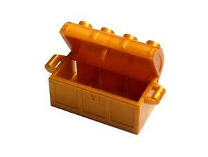 LEGO-10x-Caja-Tesoro-En-perl-ORO-Pecho-Pearl-gold-COFRE-DEL-4738ac01-NUEVO
