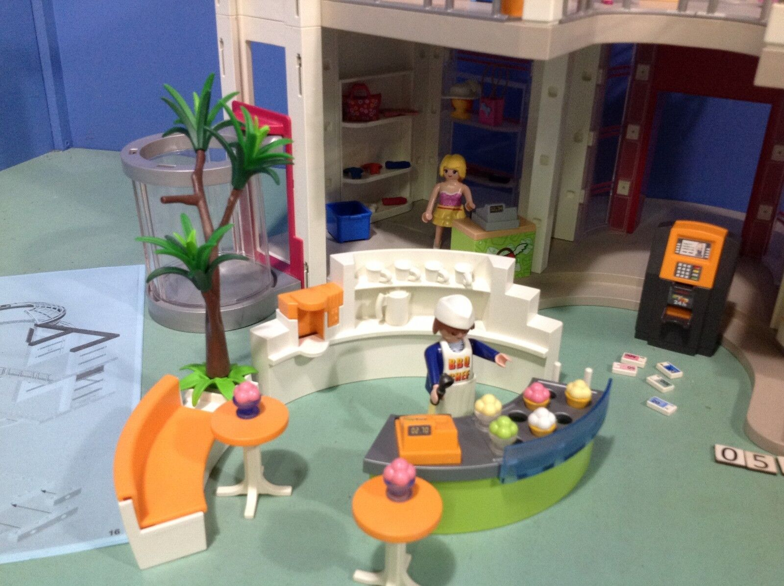 (O5485.9) Playmobil grand magasin ref ref ref 5485 + extension ref 5486 270eb0
