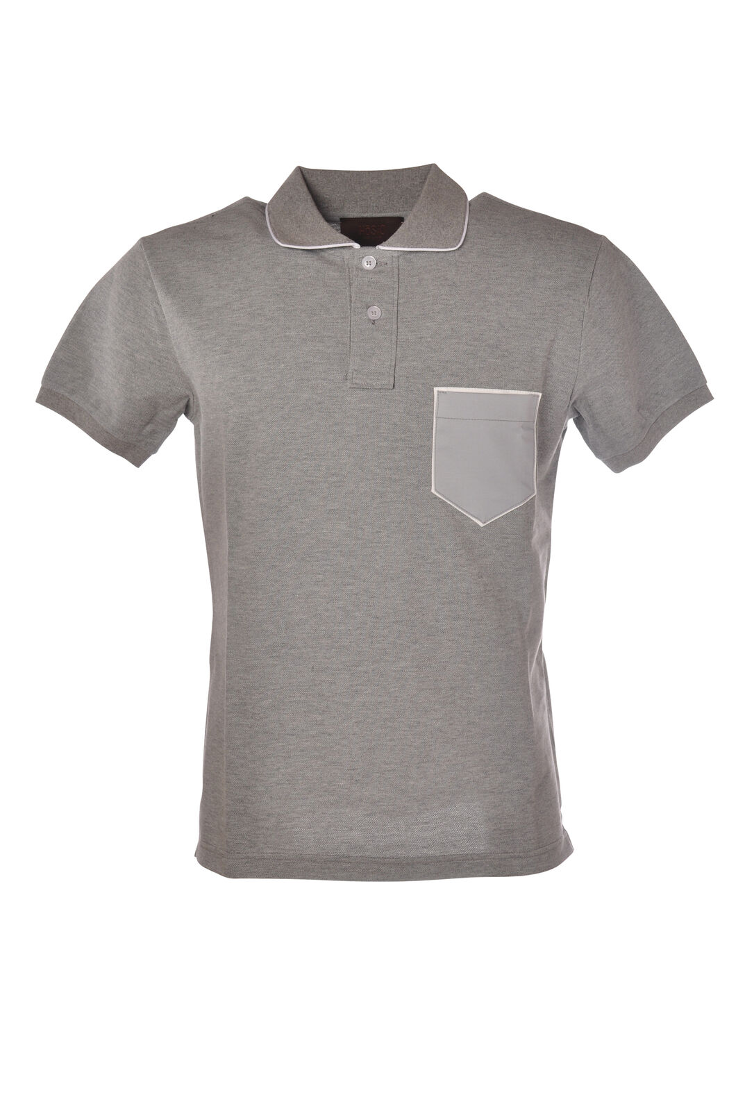 Hosio - Topwear-Polo - Man - Grey - 5324831G185221