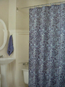 Image Is Loading West St Designs Batik Fabric Shower Curtain 70