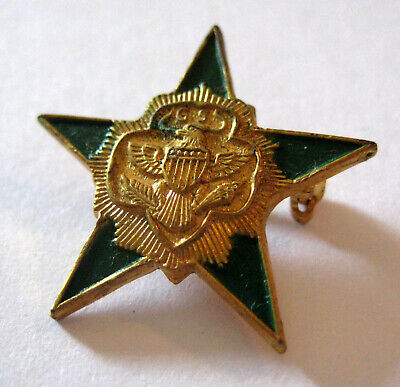1950s Girl Scout 5 FIVE YEAR SERVICE PIN Numeral Guard NEW Membership Number