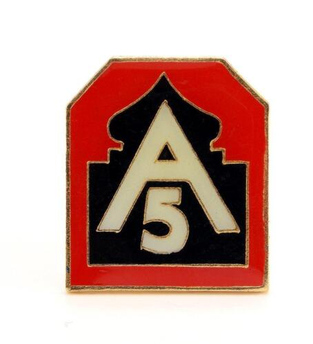 United States Army North Fifth Army Lapel Hat Pin Military Gift PPM637