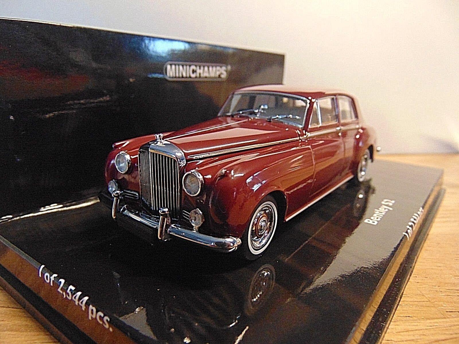 la mejor selección de Bentley s2 s2 s2 standard Saloon  1960 rojo  1 43 Minichamps 436139951  Los mejores precios y los estilos más frescos.