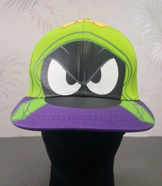 Looney Tunes Marvin The Martian Youth Snapback Hat Warner