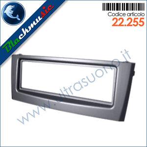 Mascherina-supporto-autoradio-ISO-Fiat-Grande-Punto-199-2005-2009-col-grigio