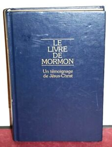 The Book of Mormon French Le Livre De Mormon 1988 LDS