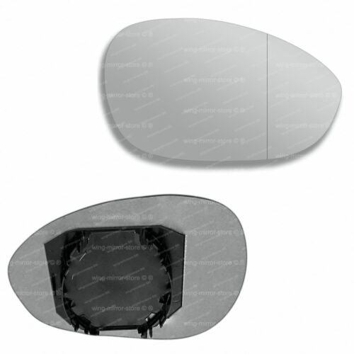 Right side for Fiat 500 2007-2008 Wide Angle wing door mirror glass