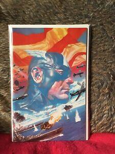 CAPTAIN-AMERICA-1-ROSS-VIRGIN-VARIANT-EDITION-MARVEL-COMICS