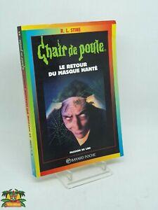 Details Sur Livre Chair De Poule Le Retour Du Masque Hante