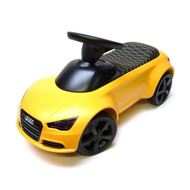 Audi Junior quattro Vegasgelb 3201700400 Limitiert LED Scheinwerfer Rutscherauto