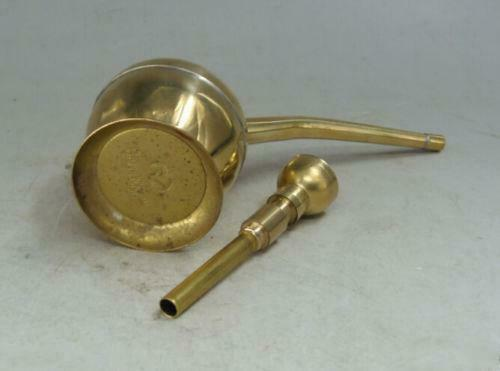 High quality Collection chinese brass copper handwork Water smoking tool pipe