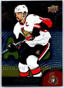 2017-18-TIM-HORTONS-UPPER-DECK-NHL-HOCKEY-CARD-65-ERIK-KARLSSON-Mint-Senators