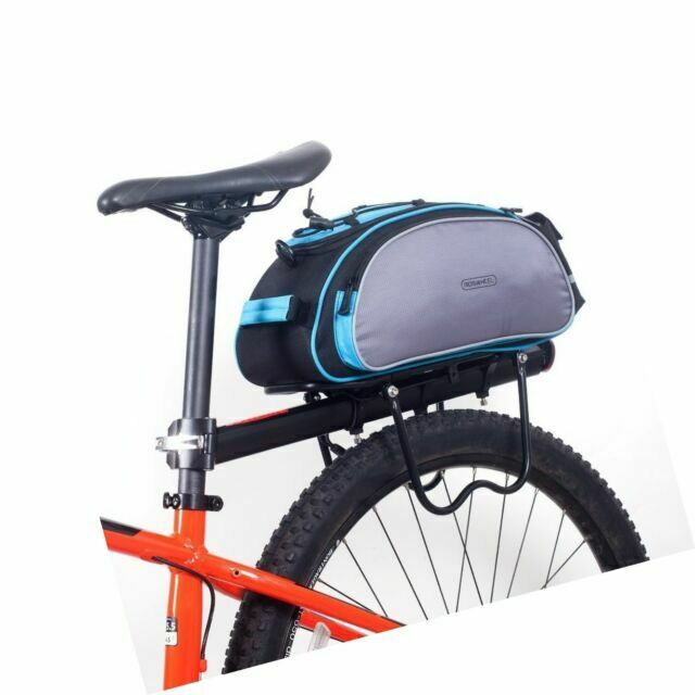 Bicycle Rack Bag 13l Waterproof Cycling