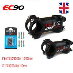 UK 1-1//8in 6//17° 60-120mm 31.8mm Handlebar Threadless 28.6mm MTB Bike Bar Stem