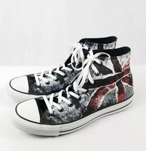 88136fdfdc48 Converse Chuck Taylor High Top Union Jack British Flag Men s Size 12 ...
