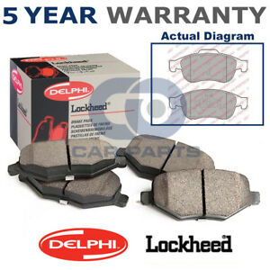 set of front delphi lockheed brake pads for dacia opel renault rh ebay co uk