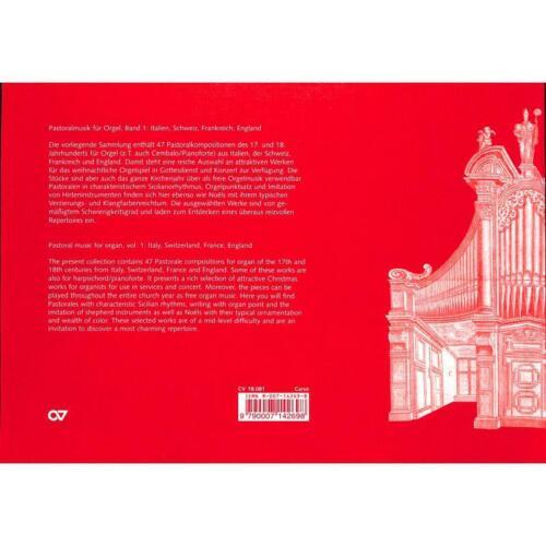Pastoralmusik Band 1 9790007142698 Noten für Orgel Pastorale