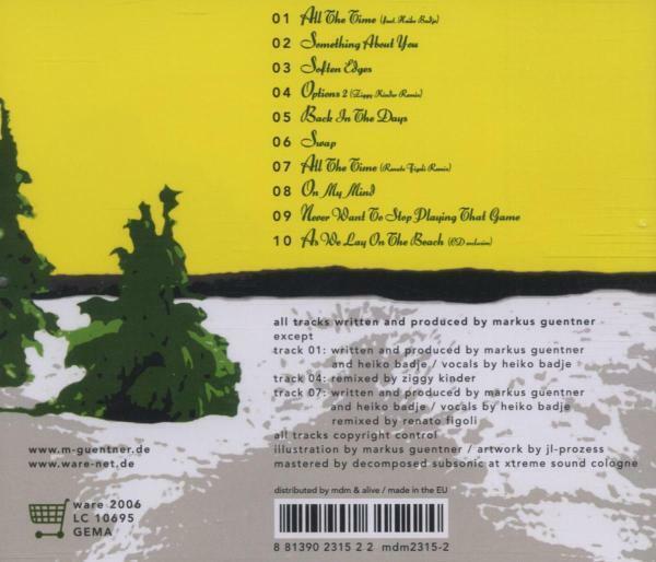 MARKUS GÜNTNER - LOVELY SOCIETY   CD NEU