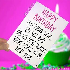 Happy Birthday Biglietti Di Auguri Compleanno Per Amico Divertente