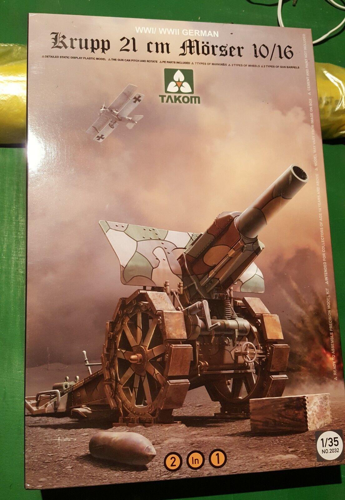 Takom - 1 35 - Krupp 210mm Morser 10 16