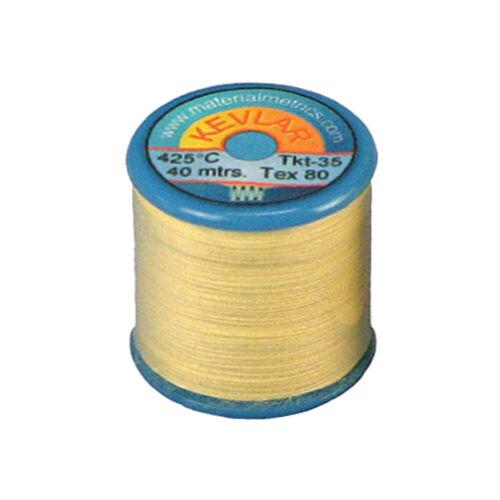 Tex-80 Ultra Strong Kevlar Sewing Thread 1 x 40m bobbin reel High temperature
